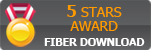 Fiber Download 5 stars